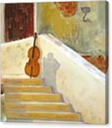 Cello No 3 Canvas Print