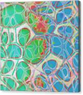 Cells 11 - Abstract Painting  Canvas Print