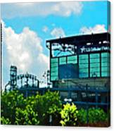 Cellular Field Canvas Print
