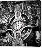 Celtic Cross Detail Killarney Ireland Canvas Print