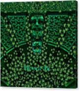 Celtic Green Man Canvas Print