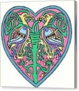 Celtic Heart Canvas Print