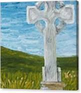 Celtic High Cross Canvas Print