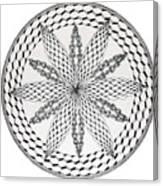 Celtic Knot Mandala Canvas Print