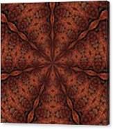 Celtic Ribbons Tile K7-2 Bronze Canvas Print