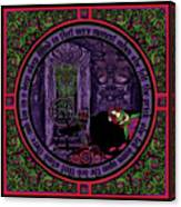 Celtic Sleeping Beauty Part II The Wound Canvas Print