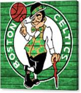 Celtics Barn Door Canvas Print