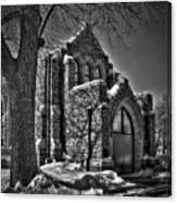 Cemetary Chaple Canvas Print