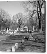 Cemetery 7 Canvas Print