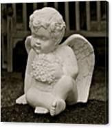 Cemetery Angel Canvas Print