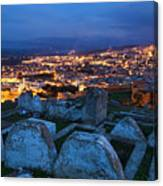 Cemetery Overlooking Fes, Morocco Canvas Print