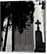 Cemetery Shadow Canvas Print