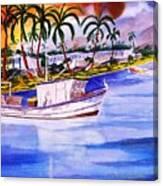 Cena Canvas Print