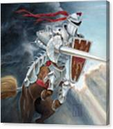 Centaur Joust Canvas Print