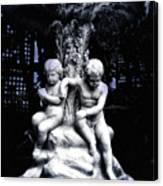 Centenial Fountain  Canvas Print