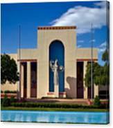 Centennial Hall At Fair Park - Dallas Canvas Print