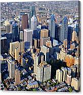 Center City Philadelphia Large Format Canvas Print