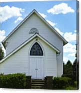 Center Ridge Presbyterian Church Canvas Print