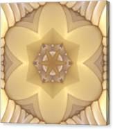 Center Star-flower Canvas Print