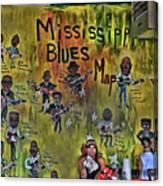 Central B B Q # 3- Memphis Canvas Print