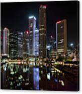 Central Business District, Singapore Canvas Print