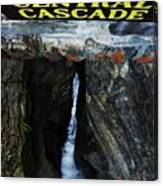 Central Cascade Bridge View Canvas Print