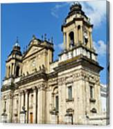 Central Church Guatemala City 1 Canvas Print