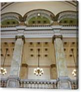 Central Library Milwaukee Interior Canvas Print