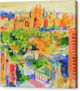 Central Park From The Carlyle Canvas Print