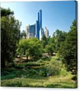 Central Park Ny Canvas Print