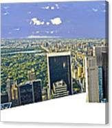 Central Park Panoramic Canvas Print