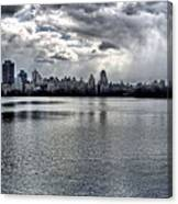 Central Park Resevoir Panorama Canvas Print