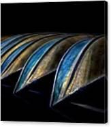 Central Park Row Boats 2 Canvas Print