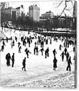Central Park Winter Carnival Canvas Print