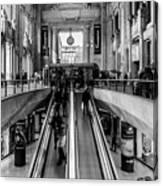 Central Station Milan Canvas Print