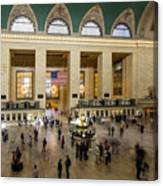 Central Station New York  Canvas Print
