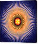 Central Sun Canvas Print