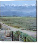 Central Valley At Tulare Canvas Print