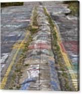 Centralia Graffiti Highway Canvas Print