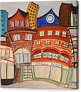 Centre Town Canvas Print