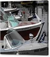 Century Boats Canvas Print