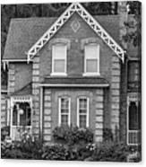 Century Home - Bw Canvas Print