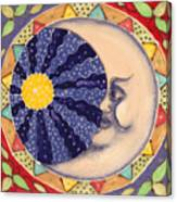Ceramic Moon Canvas Print