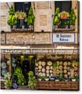 Ceramic Shop - Toledo Spain Canvas Print