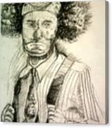 Ceremonial Clown Canvas Print