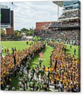 Ceremonial Running Of The Baylor Line Canvas Print