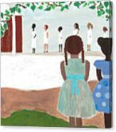 Ceremony In Sisterhood Canvas Print