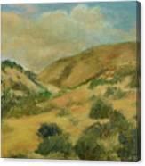 Cerillos Hills New Mexico Canvas Print