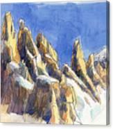 Cerro Torre, Patagonia Canvas Print
