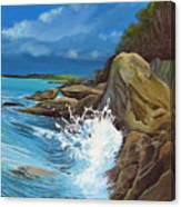 Cerulean Canvas Print